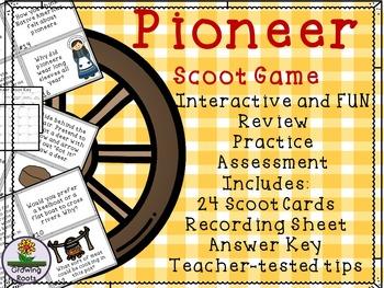 Pioneer Oregon Trail Game / Task Cards