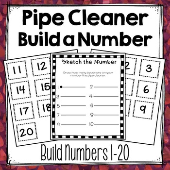 Pipe Cleaner Build a Number