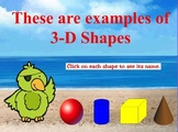 Pirate 2-D and 3-D Shapes for Promethean Board