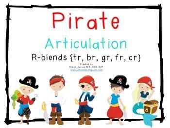 Pirate Articulation: R-Blends