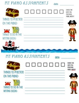 Pirate Assignment Page
