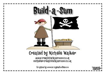 Pirate Build-a-Sum Game