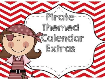 Pirate Calendar Extras Bundle