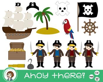 Pirate Clip Art A-hoy!