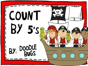 Pirate Counting by 5's - FREE DOWNLOAD