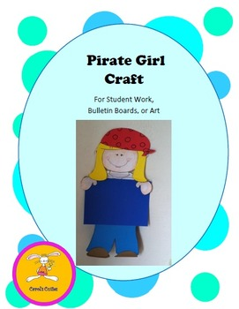 Pirate Craft - Decorative Display for Bulletin Boards, Stu