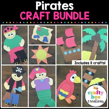 Pirate Cut and Paste Set