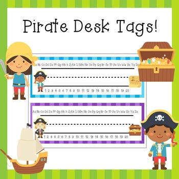 Pirate Name Plates