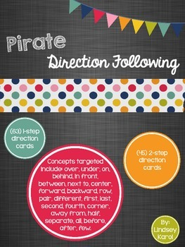 Pirate Direction Following