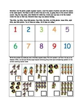 Pirate Free Math Worksheet