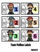 Pirate Incentive Charts and Labels to Support Classroom Ma