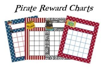 Pirate Incentive Reward Charts