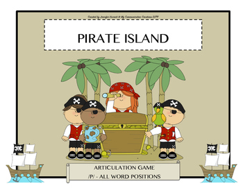 Pirate Island: Articulation Game for /P/ - All Word Positi