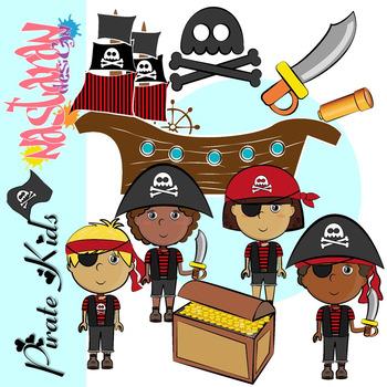 Pirate Kids Clipart
