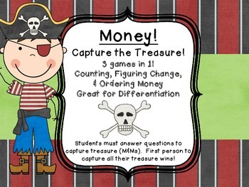 Money Common Core Center Games  Counting, Figuring Change