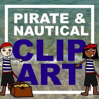 Pirate/Nautical Clip Art Freebie