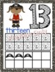 Pirate Number Posters with Tens Frames 0-20
