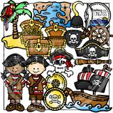 Pirate Clipart Bundle