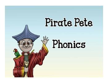 Pirate Pete Phonics - Lesson 1 Short Vowels