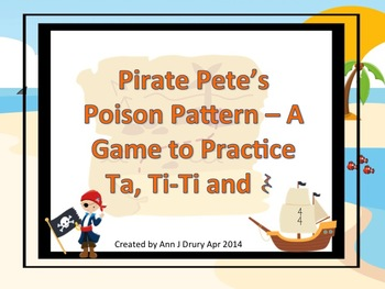Pirate Pete's Poison Pattern - A Game for Practicing Ta, T