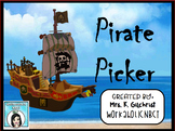 Pirate Picker Random Student Name Selector Promethean Flip