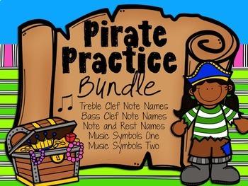 Pirate Practice Bundle