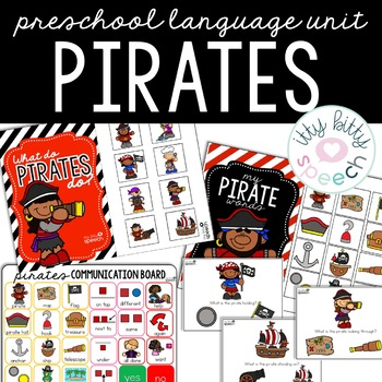 Pirate Preschool Language Unit