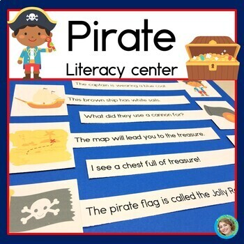 Pirate Sentence Picture Match