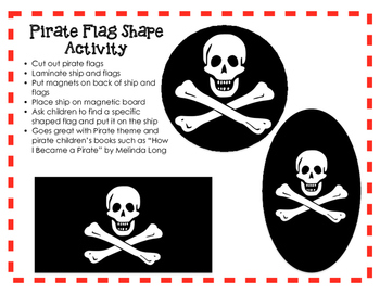 Pirate Ship Shapes