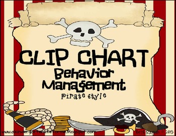Pirate Style Clip Chart