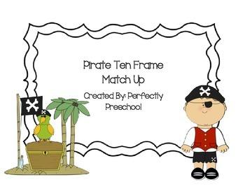 Pirate Ten Frames