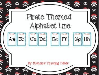 Pirate Theme Alphabet Line