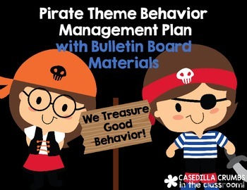 Pirate Theme Behavior Management Plan Contract and Bulleti