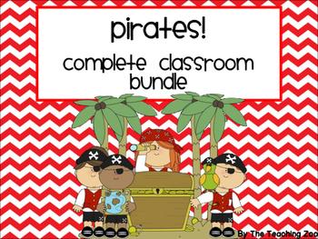 Pirate Theme Complete Classroom Decor Bundle