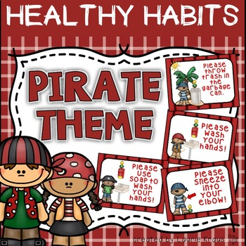 Pirate Theme Healthy Habits
