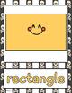 Pirate Theme - Shape Posters - Classroom Decor