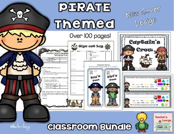 Pirate Themed Classroom Bundle