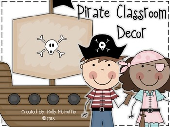 Pirate-Themed Classroom Decor