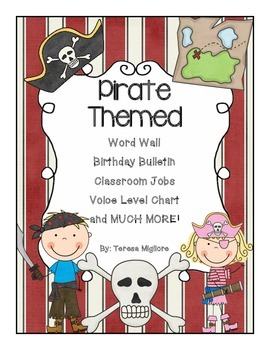 Pirate Themed Classroom - Everything you need!