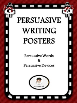 Pirate Themed Persuasive Writing Poster Set