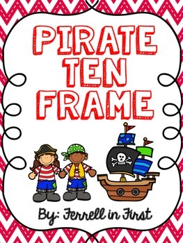 Pirate Themed Ten Frame