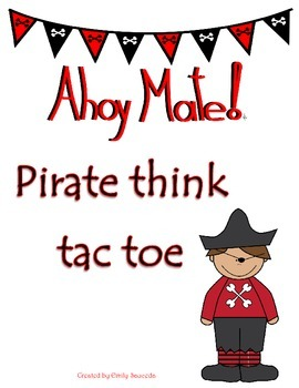 Pirate Think Tac Toe