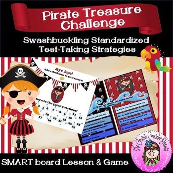 Pirate Treasure Challenge Standardized Test Taking Strateg