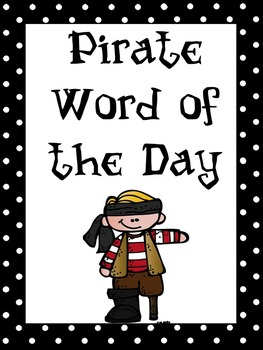 Pirate Word of the Day