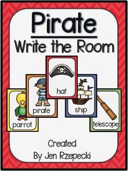 Pirate Write the Room