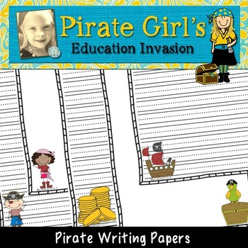 Pirate Writing Papers