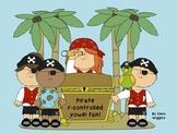 Pirate r-controlled Vowel Fun ~ a literacy center
