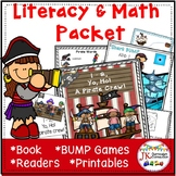 Pirate Literacy and Math Activities Packet
