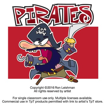 Pirates Cartoon Clipart