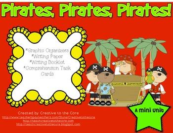 Pirates Mini Unit~ Includes Graphic Organizers & Much More!